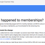 Google Express is Now Free